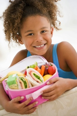 Girl Eating Healthy - Food Insecurity in Brevard County